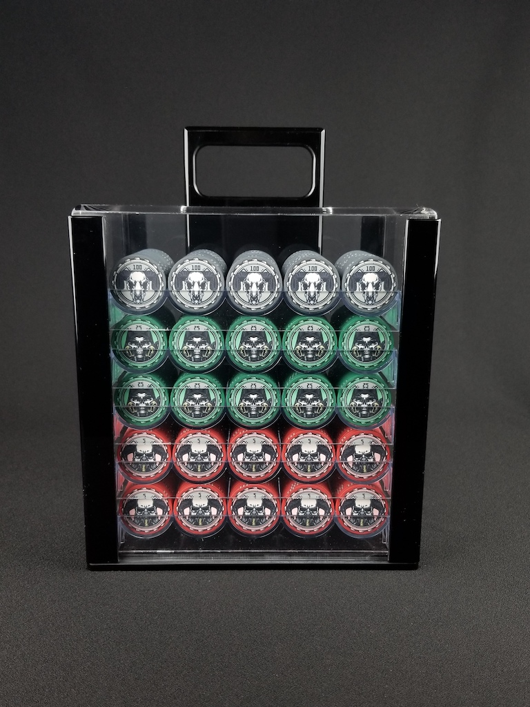 Aftermath Rich Man® Poker Chip Set 1000 quantity for Cash Games