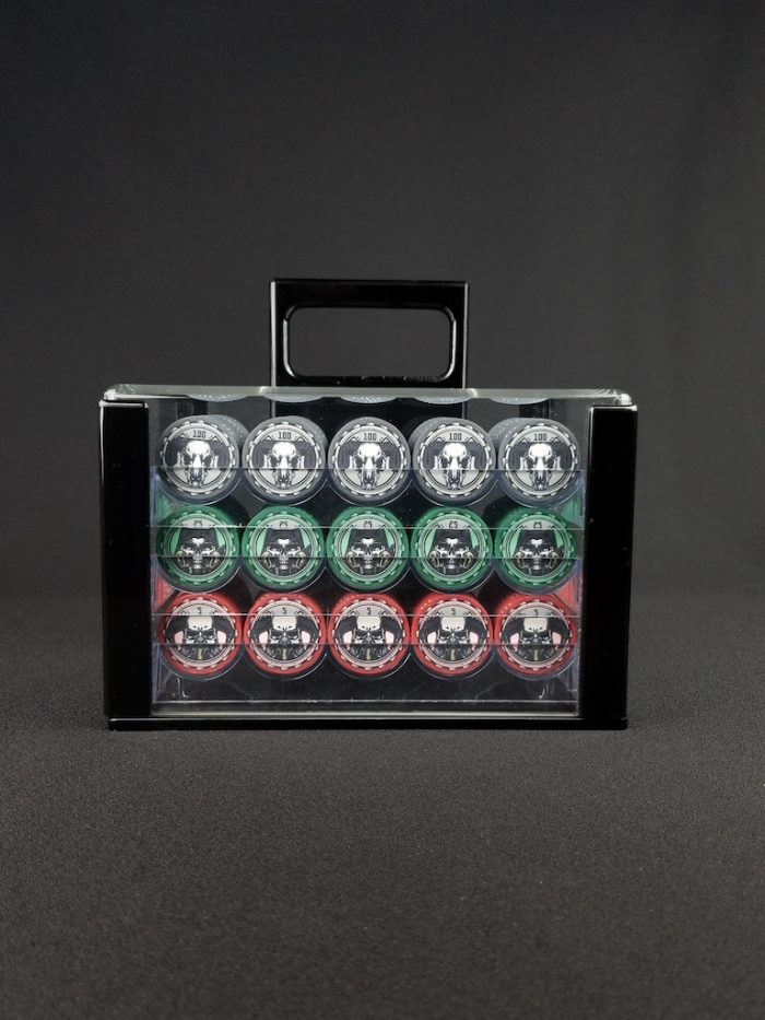 Aftermath Rich Man® Poker Chip Set 600 quantity for Cash Games