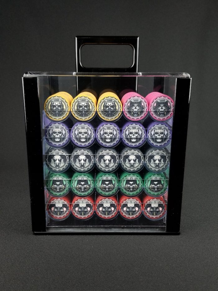 Aftermath Hi-Lo Poker Chip Set – Tourneys & Cash Games