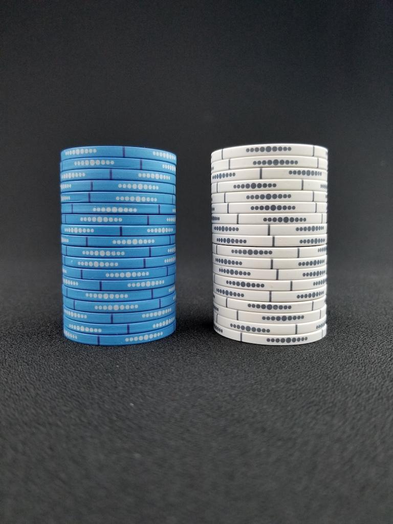 Infinity Poker Room Poker Chips Rolling Edge